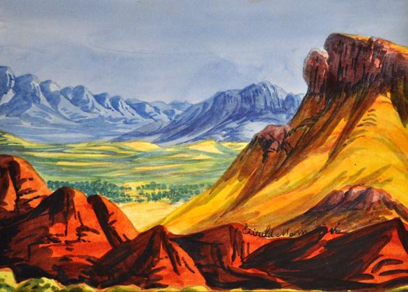 Ewald Namatjira (1930-1984)